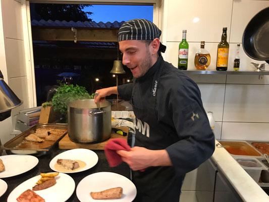 Marco Sacca Cucina Ristorante Della mamma Vaals