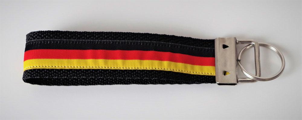Schlüsselband schwarz rot gold Deutschland Fußball WM