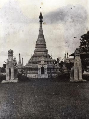 Burmese Pagoda. Burmesische Pagode