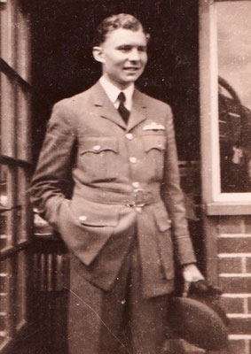 Pilot Officer Denis Murray D`Eath, RAF