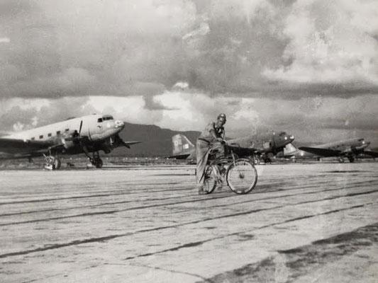 Tulihal Airstrip/Flugplatz, Imphal Valley, India. 435 Sqn. 1944