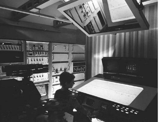 Мониторная сканирующая система АЭЛТ-2/160 (первый вариант), созданная В.Н. Шкунденковым (фото 1978 года)