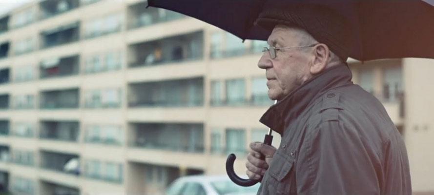В пригороде Женевы во время дождя. В.Н.Шкунденков
