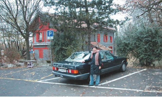 Мария Шкунденкова, дочь В.Н.Шкунденкова. «Философский ресторан» в Женеве
