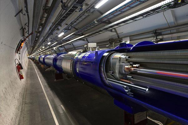 ЦЕРН, Женева, Большой адронный коллайдер