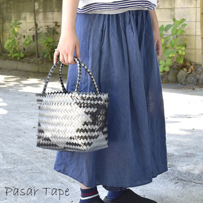 買い物にも便利な大きめバッグ(3反)