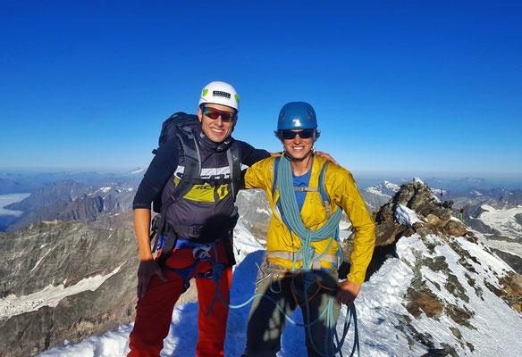 ...und das Gipfelfoto auf 4478m.ü.M