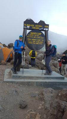 Ausgangspunkt zur Gipfelbesteigung