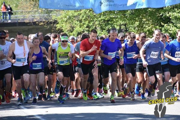 Startschuss zum 11km Lauf Nidau