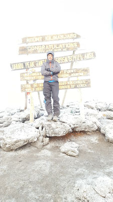 TOP OF AFRICA :)