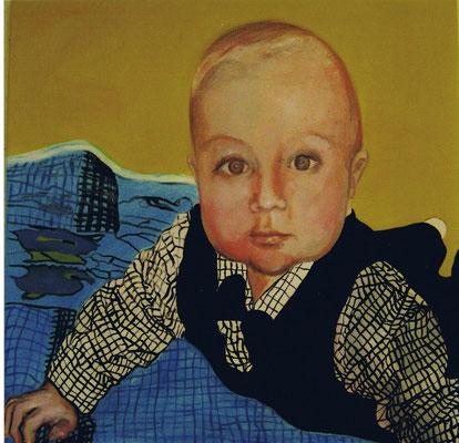 David, Öl/Leinwand, ca. 80 x 80 cm