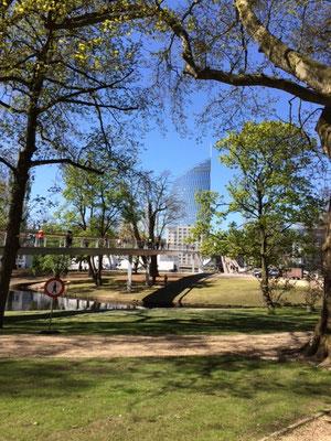 La Parc de la Boverie, poumon vert des Liégeois
