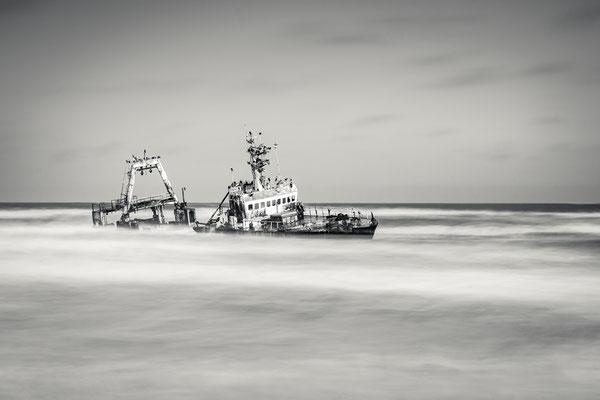 Namibia Memos 2017 - Skelettküste :: Copyright Martin Schmidt, Fotograf für Schwarz-Weiß Fine-Art Architektur- und Landschaftsfotografie aus Nürnberg