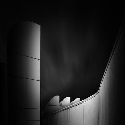 Bauhaus Berlin :: Copyright Martin Schmidt, Fotograf für Schwarz-Weiß Fine-Art Architektur- und Landschaftsfotografie aus Nürnberg