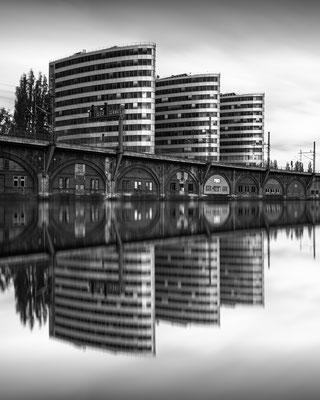 Berlin - Trias Towers :: Copyright Martin Schmidt, Fotograf für Schwarz-Weiß Fine-Art Architektur- und Landschaftsfotografie aus Nürnberg