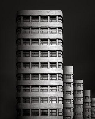 Shell-Haus Berlin :: Copyright Martin Schmidt, Fotograf für Schwarz-Weiß Fine-Art Architektur- und Landschaftsfotografie aus Nürnberg