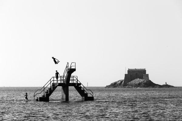 Bretagne #1 - St. Malo Coastal Street Photography 1/2 :: Copyright Martin Schmidt, Fotograf für Schwarz-Weiß Fine-Art Architektur- und Landschaftsfotografie aus Trier