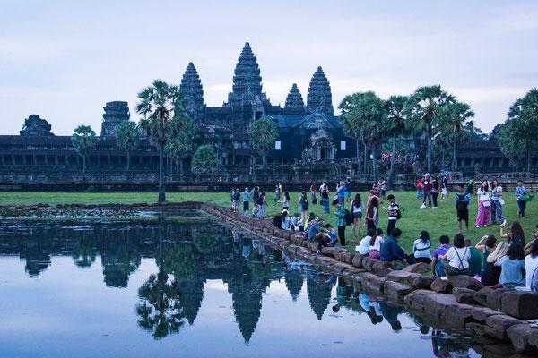 Indochina Memos 2015 - Angkor #1 (Copyright Martin Schmidt, Fotograf für Schwarz-Weiß Fine-Art Architektur- und Landschaftsfotografie aus Nürnberg)
