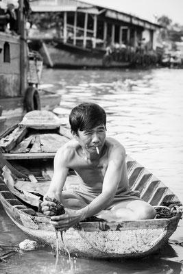 Indochina Memos 2015 - Mekong-Delta #6 (Copyright Martin Schmidt, Fotograf für Schwarz-Weiß Fine-Art Architektur- und Landschaftsfotografie aus Nürnberg)