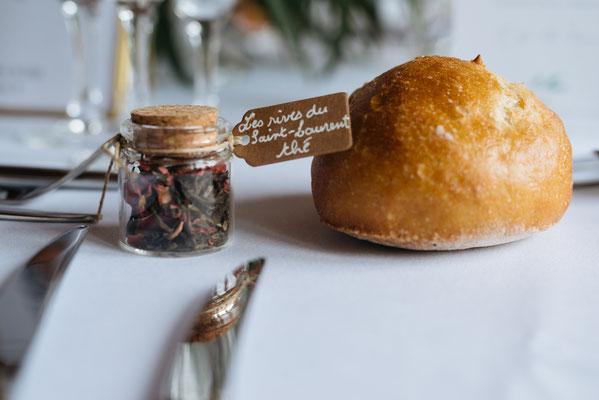 Cadeau original pour les invités mariage : thé