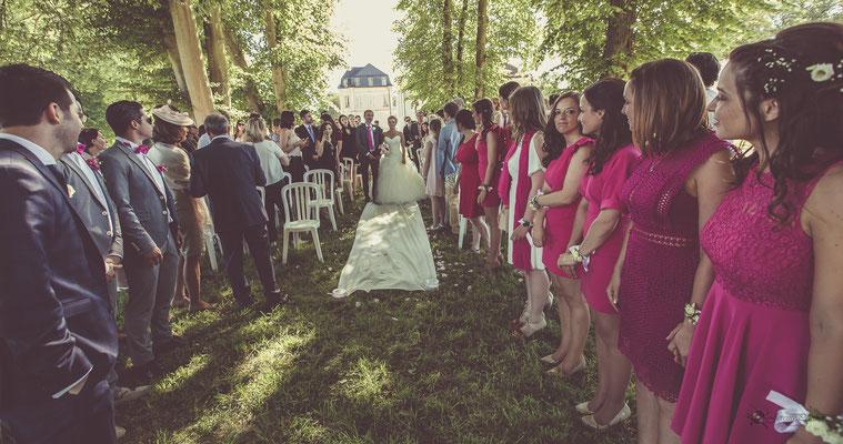 Cérémonie laïque : entrée de la mariée