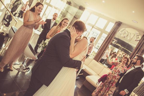 Mariage dans un loft parisien