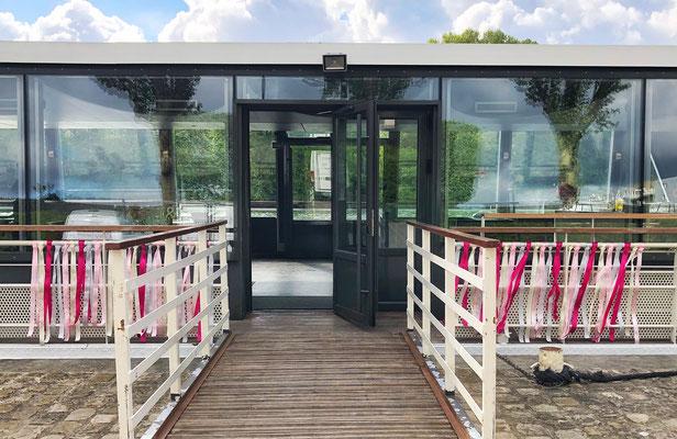 Lieu de réception mariage sur l'eau : péniche parisienne