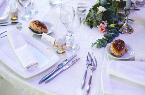 Décoration de table mariage pastel
