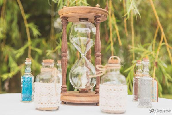 Cérémonie laïque mariage : rituel du sable