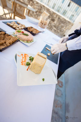 Animation culinaire cocktail mariage