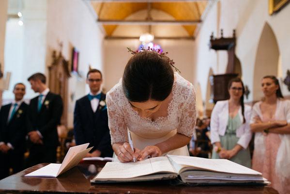 Cérémonie religieuse mariage à l'église