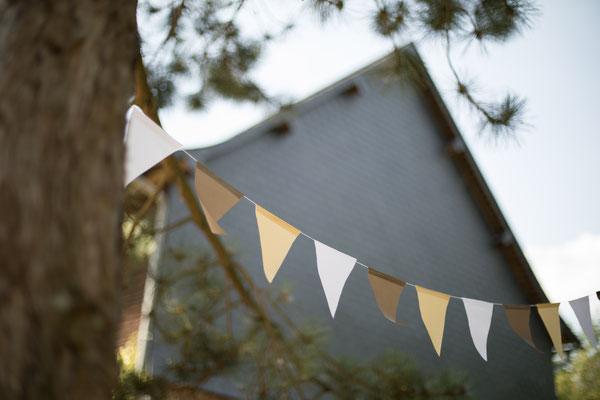 Décoration mariage coloré : thème couleur jaune