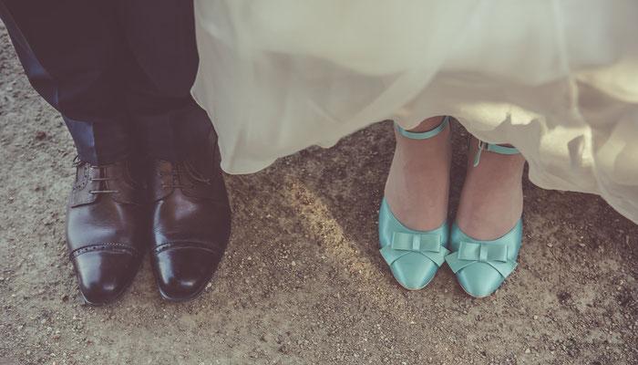 Séance photo de couple mariage