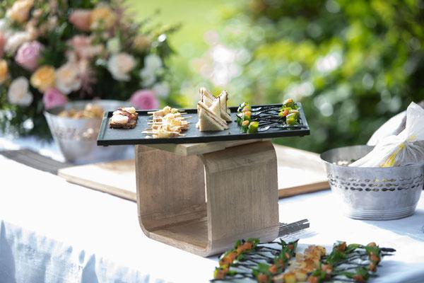 Pièces apéritives cocktail mariage