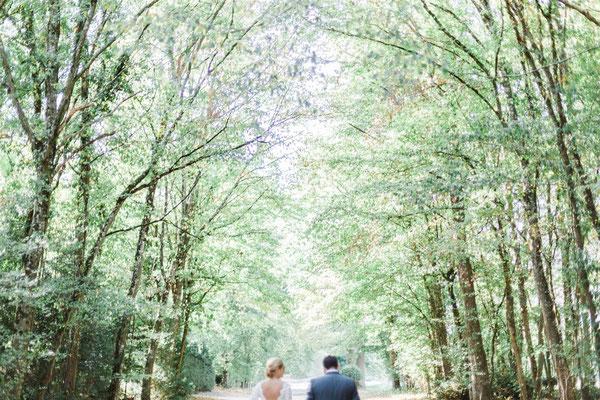 Séance photo de couple mariage nature