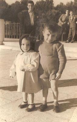 Antonietta e Salvatore piccoli