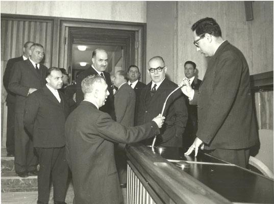MINISTRO PASTORE 06.05.1962