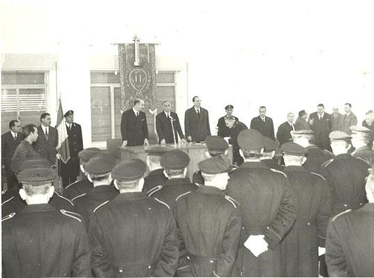 FESTA FONDAZIONE DEL CORPO 23.01.1961