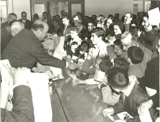 BEFANA AI FIGLI DIPENDENTI CONUNALI 05.05.1961