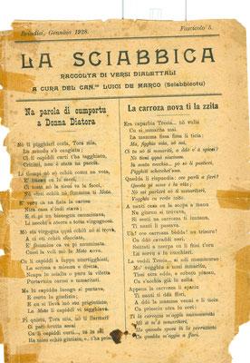 1928 LA SCIABBICA