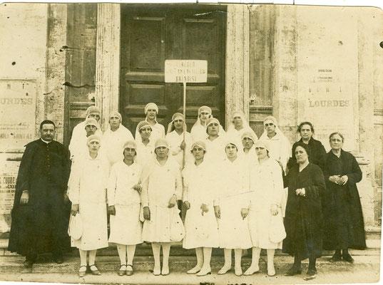 1928 PELLEGRINAGGIO A ROMA