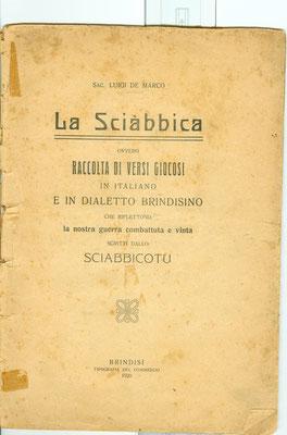 1920 LA SCIABBICA