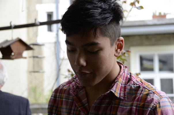 Thamiam an seinem 16. Geburtstag