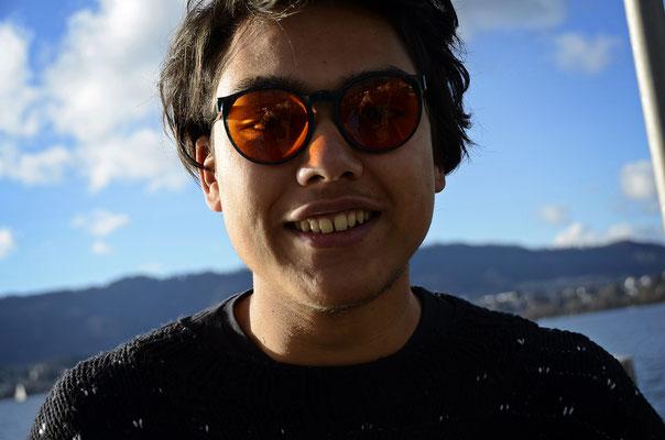 Thamiam am 05.01.2014 in Zürich, als wir das NONAM besuchten