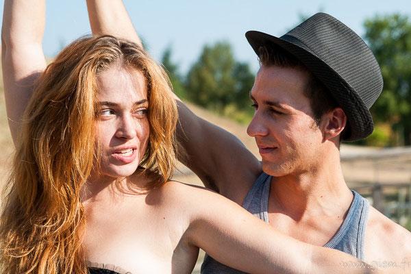 Jade Bernard et Alex