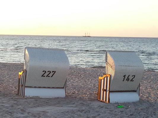Strandkörbe am Prerower Strand