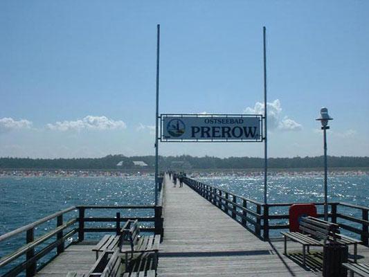 Die Seebrücke des Ostseebad Prerow