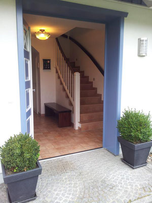 Eingang zum Landhaus Prerow