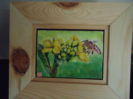 2014年 「菜の花とミツバチ」 (¥10,000)