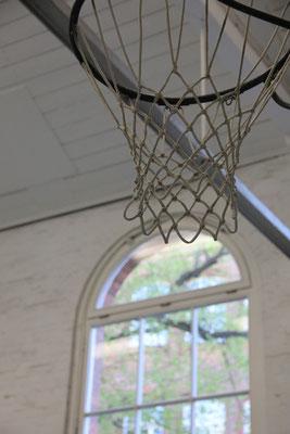 Detailaufnahme aus unserer Sporthalle